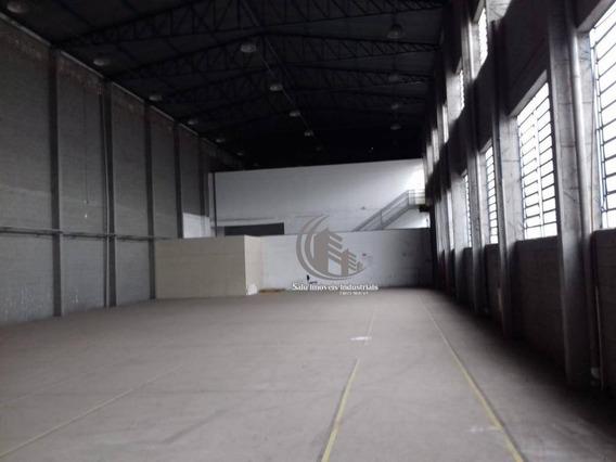 Galpão Industrial Para Locação Em Parque Industrial Do Jardim São Geraldo - Guarulhos/sp - Ga0187
