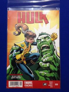 Comics Marvel Hulk 009 Con Kitty Pryde 2015 Televisa Grapas