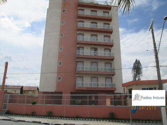 Apartamento Com 1 Dorm, Vila Nossa Senhora Fátima, Mongaguá, 50m² - Codigo: 8608 - A8608