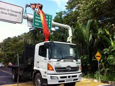 Camión Grua Transporte Carga Pesada