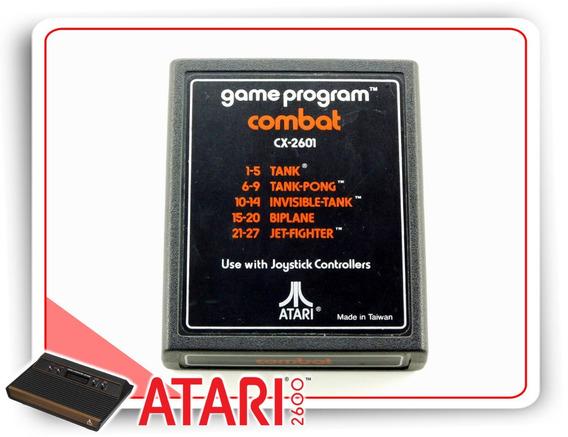 Combat Cartucho Original Atari