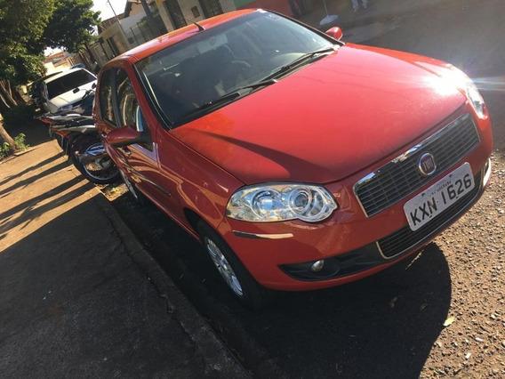 Fiat Siena Elx 1.4 Vermelho 2008