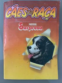 Álbum Surpresa Nestlé - Cães De Raça Completo