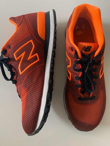 New Balance Zapas Bordo Naranja 39.5 Tipo Nike adidas Gucc
