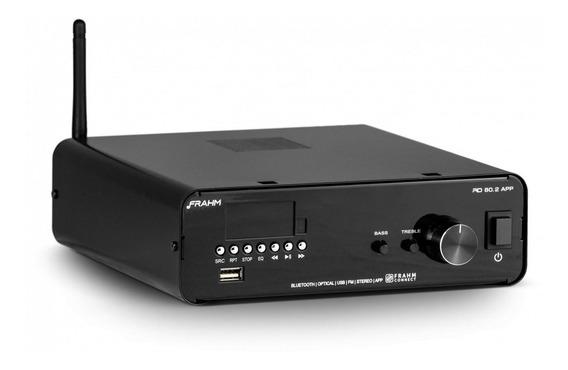 Amplificador Frahm Rd 80 G2 Receiver Para Som Ambiente 160w