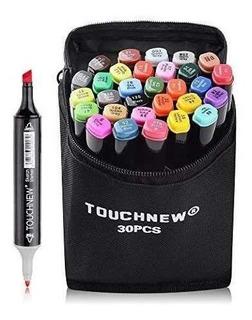 30 Colores Touchnew Puntas Dobles Art Sketch Twin Marker