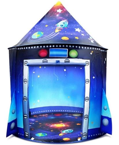 Imagen 1 de 6 de Tienda De Campaña Espacio Exterior Niños Carpa De Juegos