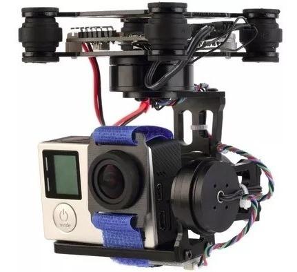 Gimbal Hakrc Storm32 Com 3 Eixos Drone Gopro