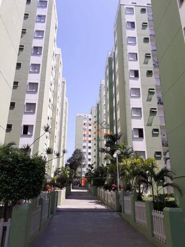 Imagem 1 de 12 de Apartamento Com 2 Dormitórios À Venda, 48 M² Por R$ 200.000,00 - Vila Carmosina - São Paulo/sp - Ap0099