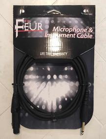 Cable Para Instrumentos Musicales, Guitarra O Microfono