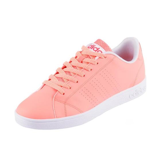 Tênis adidas Vs Advantage Clean W Laranja Claro/branco