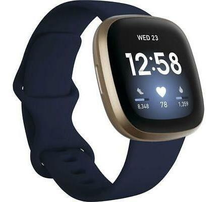 Fitbit Fitbit Versa 3 Medianoche / Oro Suave # Fb511glnv