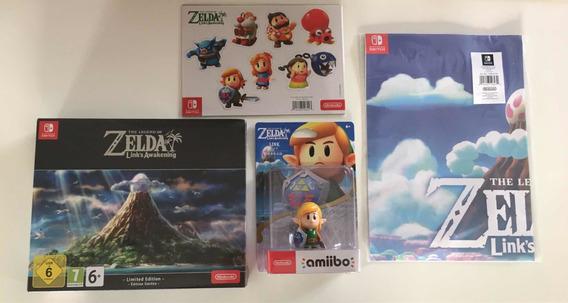 Zelda Link Awakening Limited Edition + Amiibo Preorder Bonus