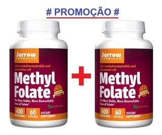 2x Metil Folato (metilfolato) 400mcg - 60 Cápsulas Importado