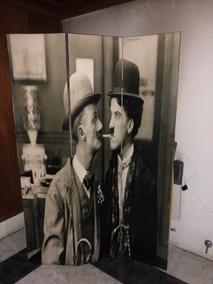 Biombo Charles Chaplin