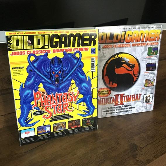 Lote - 8 Revistas Old!gamer