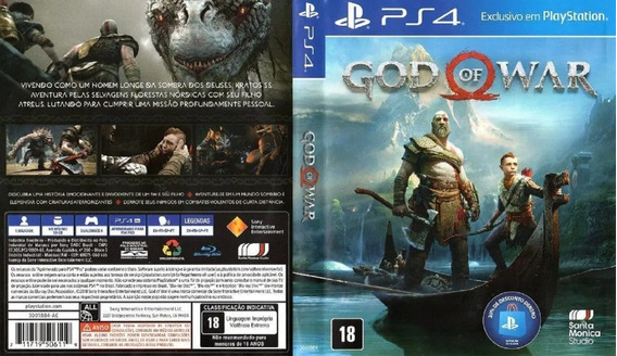 God Of War Midia Fisica Playstion Hits Midia Fisica Ps4