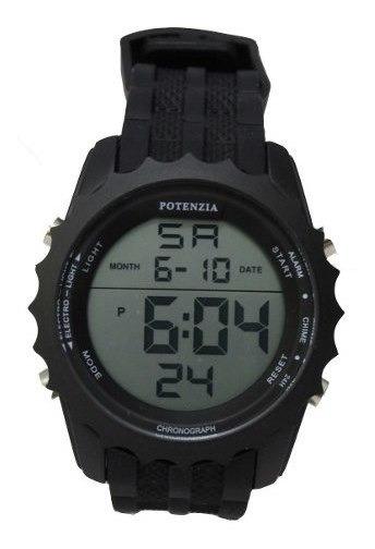 Kit 10 Relogio Masculino Potenzia Cronometro Alarme Militar