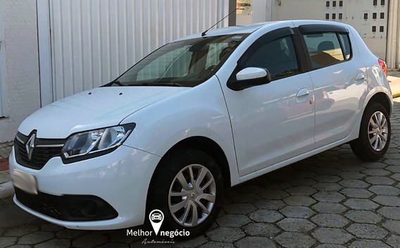 Renault Sandero 1.6 Expression Flex 2015 Branco