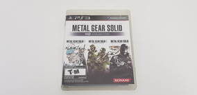 Metal Gear Solid Hd Collection - Ps3 - Original - Física
