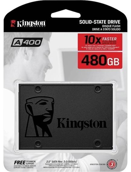 Disco Ssd 480gb Kingston A400 Estado Solido Pc Notebook