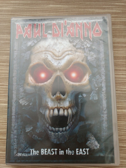 Dvd Paul Di Anno The Beast In The East (iron Maiden)