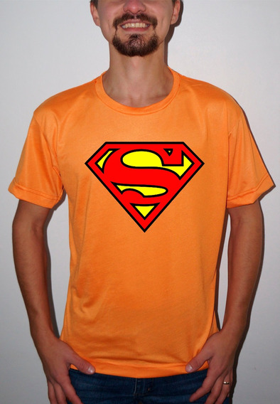 Camiseta Ou Baby Super Men Logo