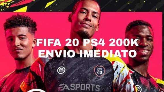 Fifa 20 Ps4 200k Envio Imediato E Seguro