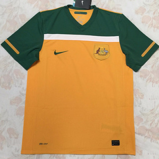 377359-702 Camisa Nike Austrália Home 2010 M Fn1608