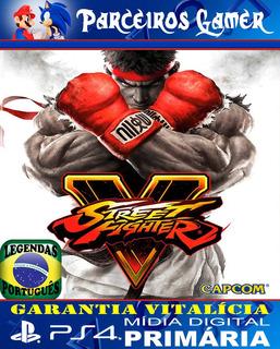 Street Fighter V - Ps4 1 - Mídia Digital - Combate - Luta