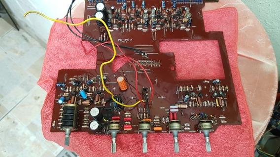 Peças Amplificador Gradiente 366- Chave , Placas, Trafo 1660