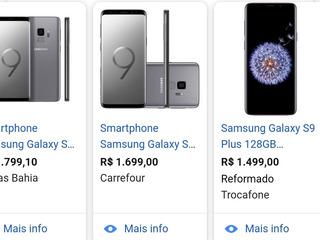 Celular Galaxy S9 128 Gb Preto