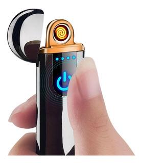 Encendedor Eléctrico Recargable Usb Táctil De Lujo