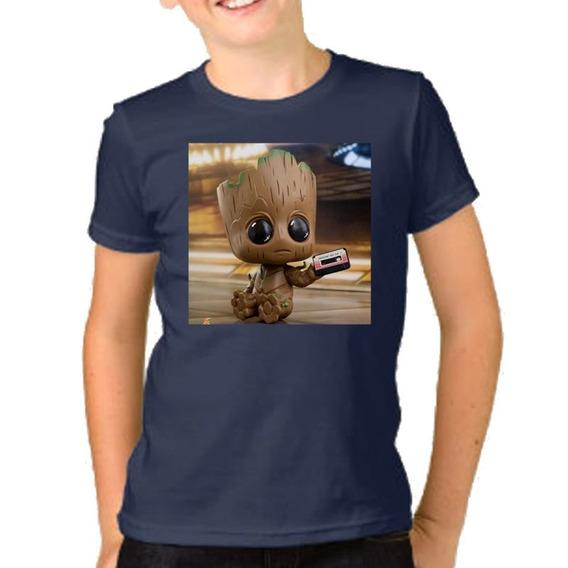 Remera Niño Niña I Am Groot Baby Avengers Vengadores M28