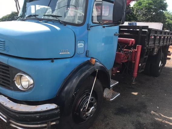 Mb 1113 Ano 78 Turbo --com Munck Mod 10