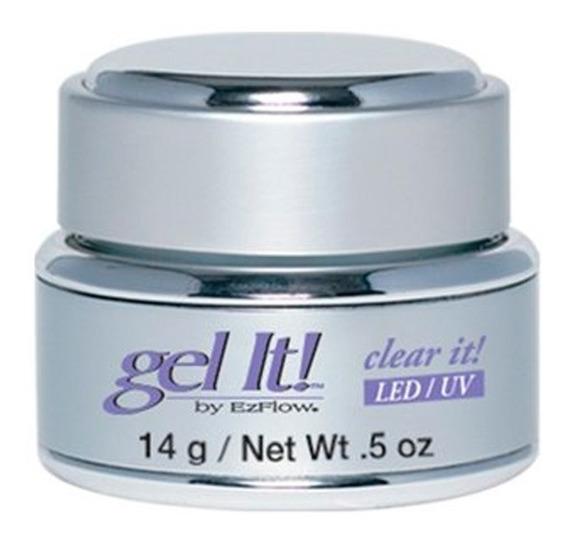 Gel Uv Led Clear It Ezflow Transparente Gel It X 14 Gr