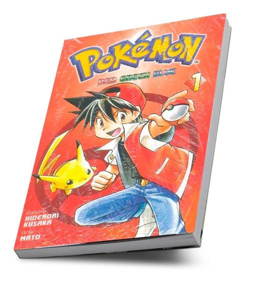 Mangá Pokémon Red Green Blue Hidenori Kusaka Vol 1 -lacrado