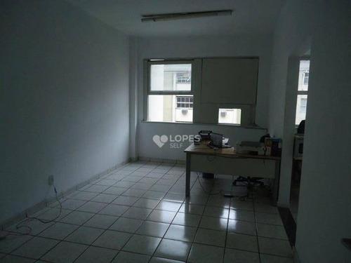 Sala À Venda, 40 M² Por R$ 260.000,00 - Centro - Niterói/rj - Sa2048