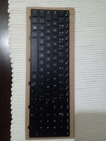 Teclado Para Notebook Dell Usado. Com Defeito Na Tecla Aspas