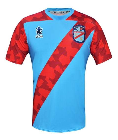 Camiseta Arsenal De Sarandi Lyon 2019 Titular Original