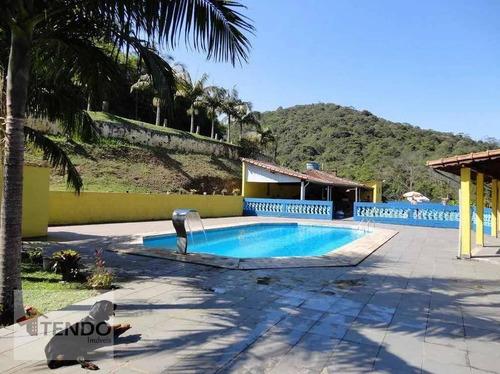 Chácara 380 M² - Venda - 3 Dormitórios - 1 Suíte - Represa - Ribeirão Pires/sp  / Imob03 - Ch0028