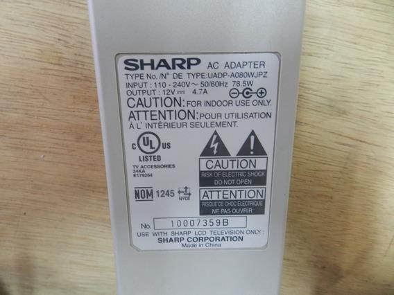 (661) Fonte De Alimentação P/ Tv Sharp Lcd Mod: Lc20s4us
