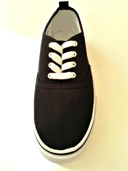 Zapatillas De Lona Negra, Ultima Moda, H & M