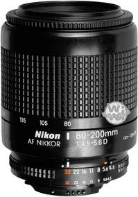 Lente Nikkor Af 80-200mm F: 4.5-5.6d (usado)