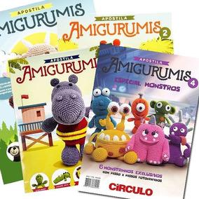 Kit Apostila Amigurumi - 3 Revistas Circulo Novas A Escolher