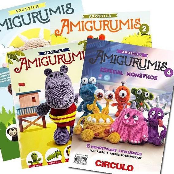 Kit Apostila Amigurumi - 2 Revistas Circulo Novas A Escolher