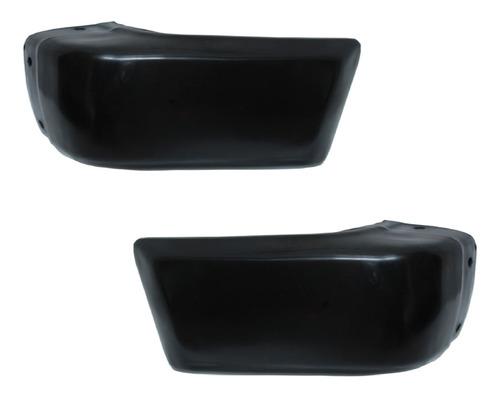 Imagen 1 de 1 de Par Alerones Delanteros 720 1988-1989 Negro Plastico Ald