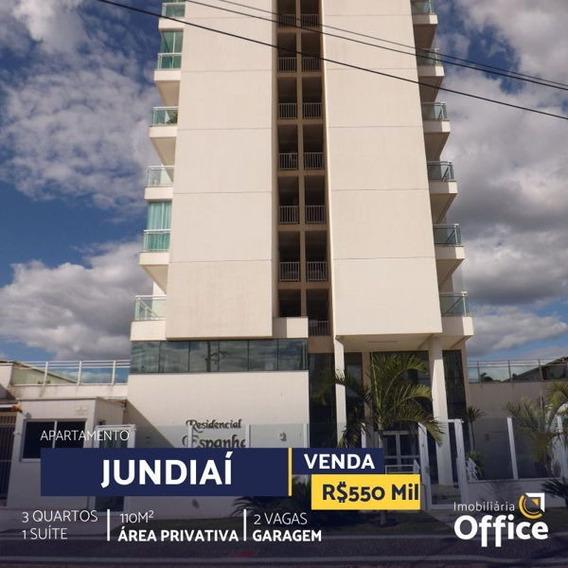 Apartamento Padrão Com 3 Quartos No Residencial Espanha - Off182-v