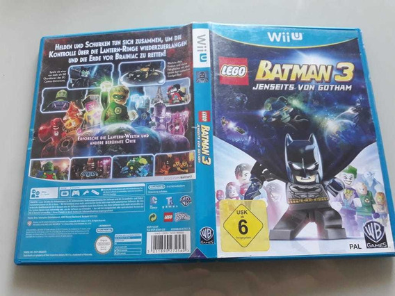 Lego Batman 3 Pal Europeu Wii U Wiiu