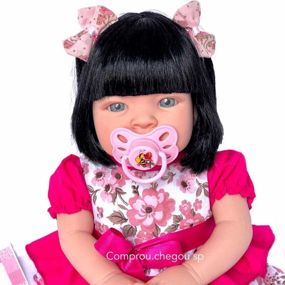 Boneca Bebe Tipo Reborn Completa Siliconad A Mais Barata Lol